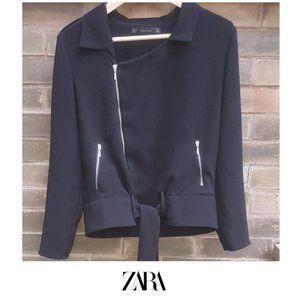 Zara Basic Motorcycle style jacket